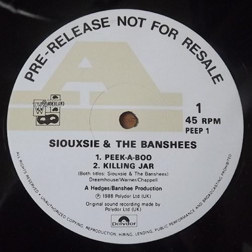 "SIOUXSIE & THE BANSHEES Peepshow (Sampler promo) (Polydor - UK original) (EX) 12"" EP"