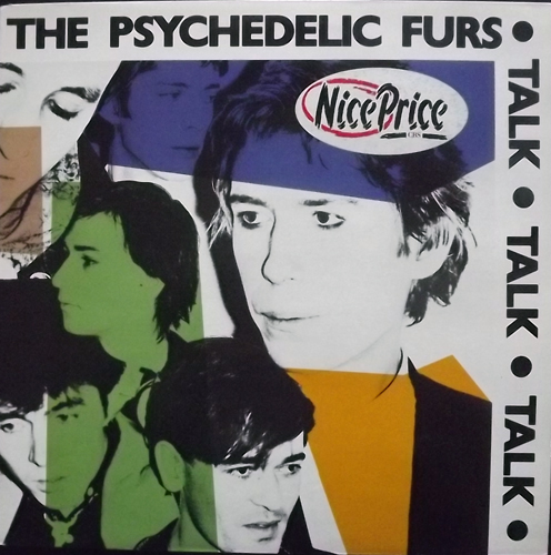 PSYCHEDELIC FURS, the Talk Talk Talk (CBS - UK reissue) (VG+/EX) LP
