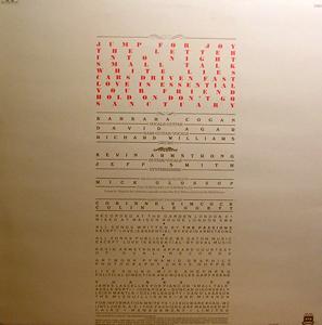 PASSIONS, the Sanctuary (Polydor - Norway original) (EX/VG+) LP