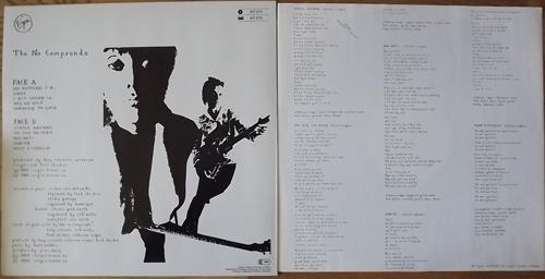 LES RITA MITSOUKO The No Comprendo (Virgin - Europe original) (EX) LP