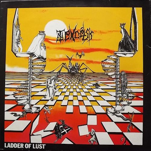 """IN EXCELSIS Ladder Of Lust (Jungle - UK original) (VG/VG+) 12"""" EP"""