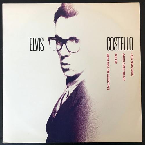 """ELVIS COSTELLO Less Than Zero (Stiff - UK original) (EX) 12"""""""