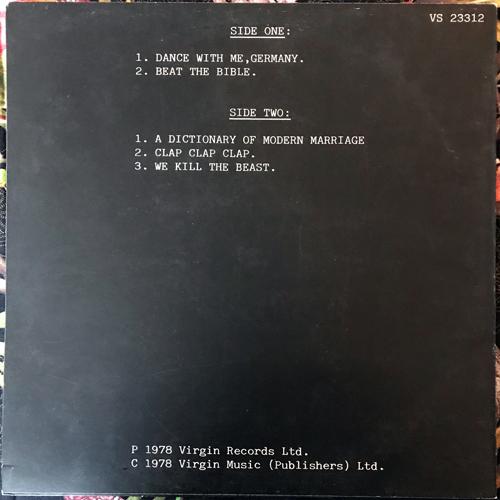 "XTC Go+ (Virgin - UK original) (VG+/EX) 12"" EP"