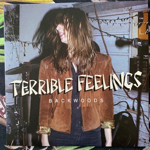 "TERRIBLE FEELINGS Backwoods (Sabotage - Germany original) (EX) 7"""