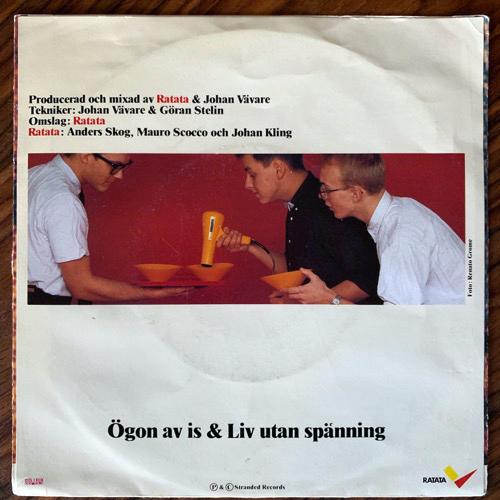 """RATATA Ögon Av Is (Stranded - Sweden original) (VG/VG+) 7"""""""