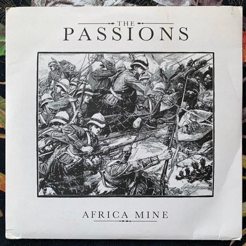 "PASSIONS, the Africa Mine (Polydor - UK original) (VG+/EX) 2x7"""
