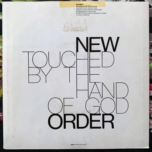 """NEW ORDER Touched By The Hand Of God (Factory - Sweden original) (VG/EX) 7"""""""