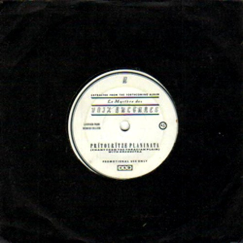 """LE MYSTERE DES VOIX BULGARES Prïtourïtze Planinata (Promo) (4AD - UK original) (VG+/EX) 7"""""""