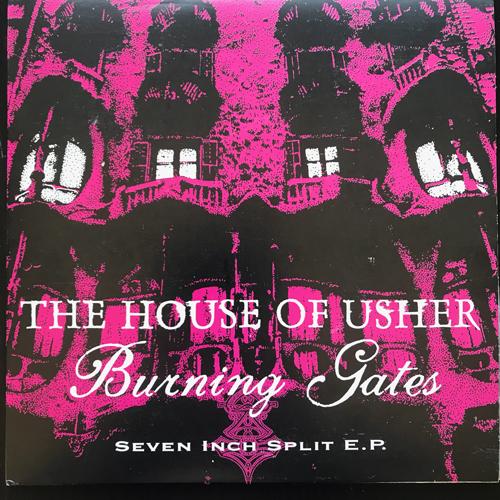 "HOUSE OF USHER, the / BURNING GATES Seven Inch Split E.P. (Équinoxe - Germany original) (EX/NM) 7"""