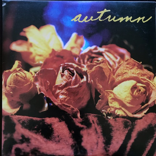 "AUTUMN Even Now (Blue vinyl) (Tess - USA original) (VG+/EX) 7"""