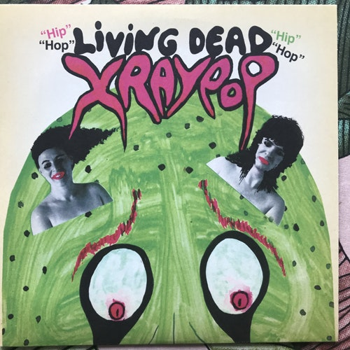 "X-RAY POP Living Dead (Cache Cache - UK original) (NM) 7"""