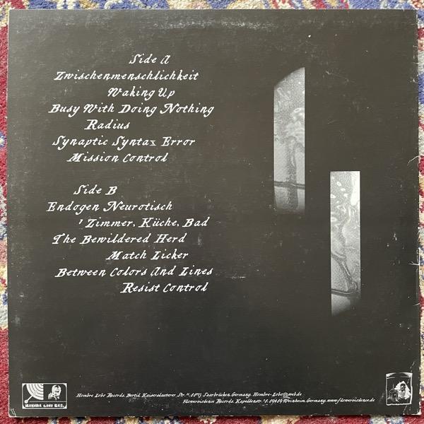 POTOMAC Synaptic Syntax Error (White/black vinyl) (Flowerviolence - Germany original) (VG/EX) LP