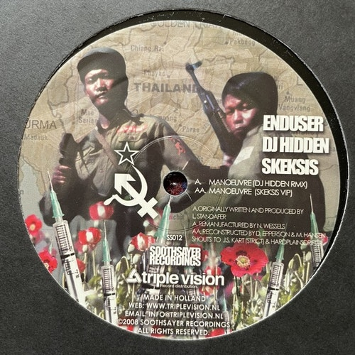 """ENDUSER Manoeuvre (Soothsayer - Holland original) (VG+) 12"""""""