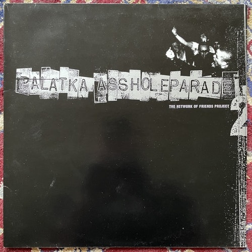 PALATKA / ASSHOLEPARADE Split (Coalition - Holland 3rd press) (VG+) LP