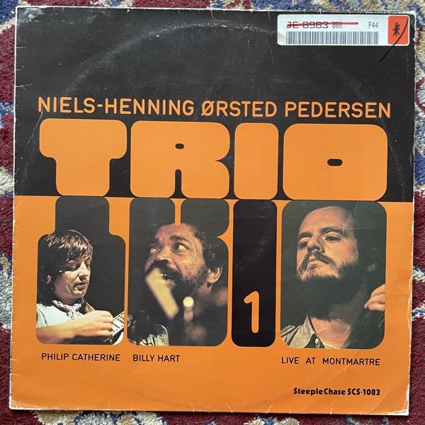 NIELS-HENNING ØRSTED PEDERSEN TRIO Trio 1 (SteepleChase - Denmark original) (VG-/VG) LP