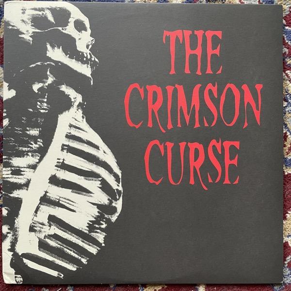 "CRIMSON CURSE, the Both Feet In The Grave (Clear vinyl) (Goldenrod - USA original) (VG+/EX) 12"" EP"