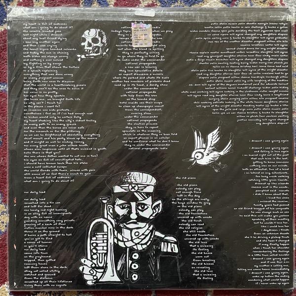 EUGENE CHADBOURNE Roll Over Berlosconi (Brown vinyl) (Interbang - Italy original) (EX) LP