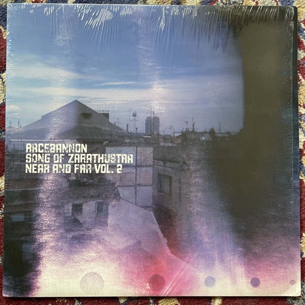 RACEBANNON / SONG OF ZARATHUSTRA Near And Far Vol. 2 (Purple vinyl) (Level Plane - USA original) (EX/NM) LP