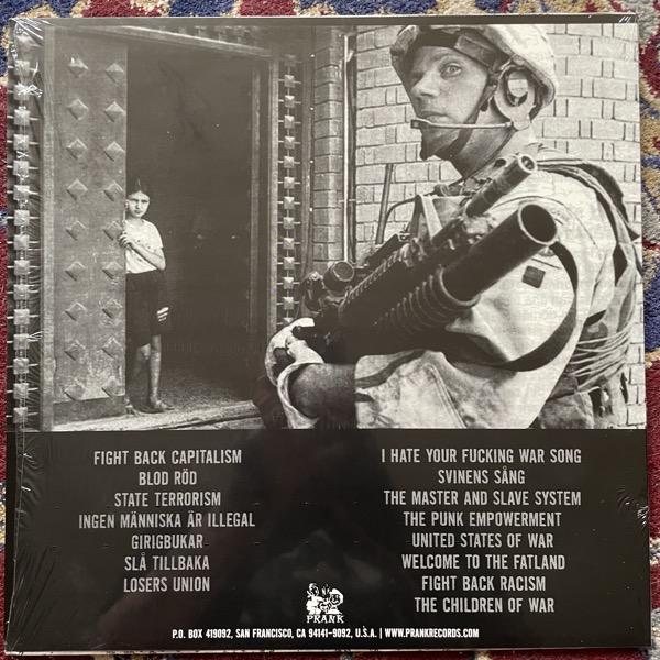 AVSKUM Punkista (Purple vinyl) (Prank - USA repress) (EX) LP