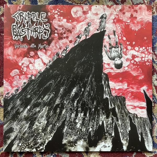 CRIPPLE BASTARDS Variante Alla Morte (Clear vinyl) (Deep Six - USA original) (EX) LP