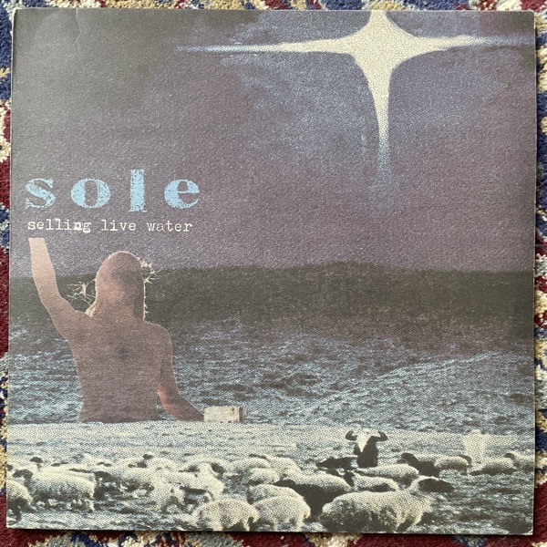 SOLE Selling Live Water (Anticon - Europe original) (VG+/EX) 2LP