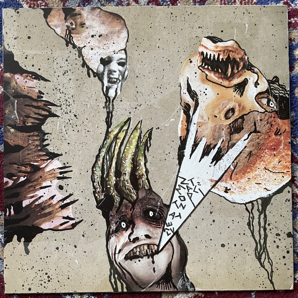 DEAD MACHINES Live At Tzompantli (Eclipse - USA original) (EX) LP