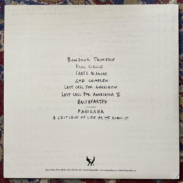 CHILDREN OF FALL Bonjour Tristesse (Day After - Czech Republic original) (EX) LP