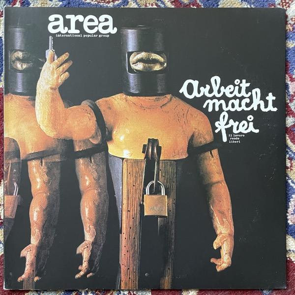 AREA Arbeit Macht Frei (Il Lavoro Rende Liberi) (Get Back - Italy reissue) (VG+/EX) LP