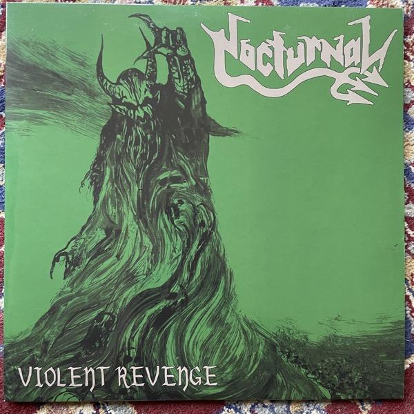 NOCTURNAL Violent Revenge ( Kneel Before The Master's Throne - Germany original) (EX) PIC LP