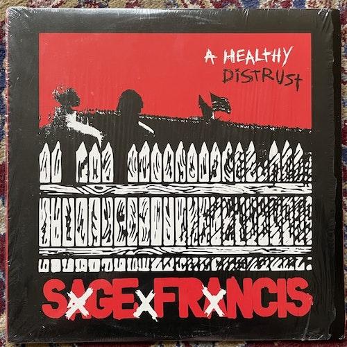 SAGE FRANCIS A Healthy Distrust (Epitaph - USA original) (EX) 2LP