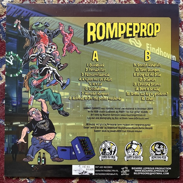 ROMPERPROP Gargle Cummics (Fat Ass - Poland original) (EX) LP