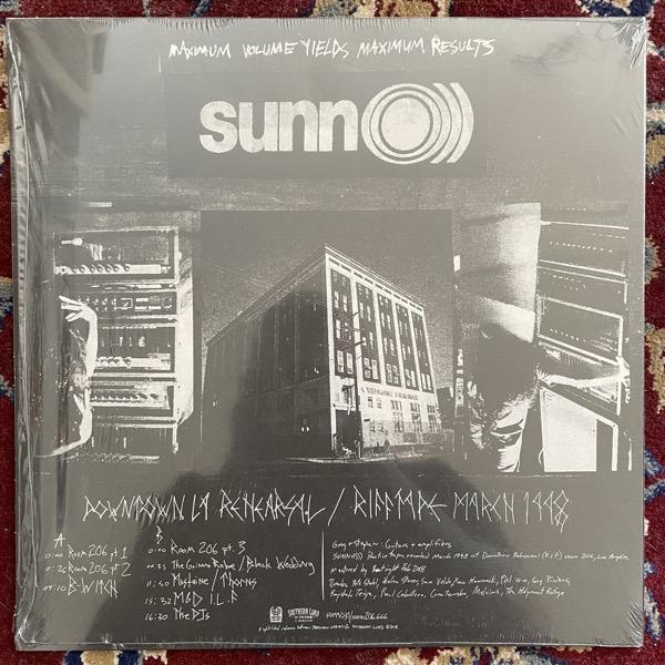 SUNN O))) Downtown LA Rehearsal / Rifftape March 1998 (Southern Lord - USA original) (NM) LP