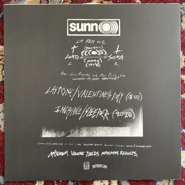 SUNN O))) LA Reh 012 (Southern Lord - USA original) (VG+/NM) LP