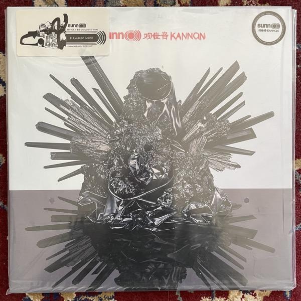 """SUNN O))) Kannon (Clear vinyl) (Southern Lord - USA original) (NM) LP+FLEXI 7"""""""
