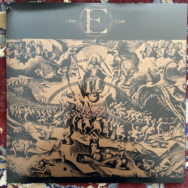 SUNN O))) & EARTH Angel Coma (Gold vinyl. Signed.) (Southern Lord - USA original) (VG+/EX) LP
