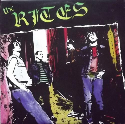 "RITES, the The Rites (Dead Alive - USA original) (EX/VG+) 12"" EP"