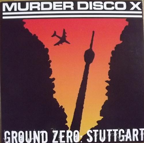 MURDER DISCO X Ground Zero Stuttgart (Profane Existence - USA original) (EX/NM) LP