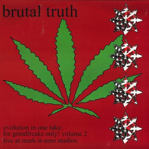 BRUTAL TRUTH Evolution In One Take: For Grindfreaks Only! Volume 2 (Bones Brigade - France original) (EX) LP