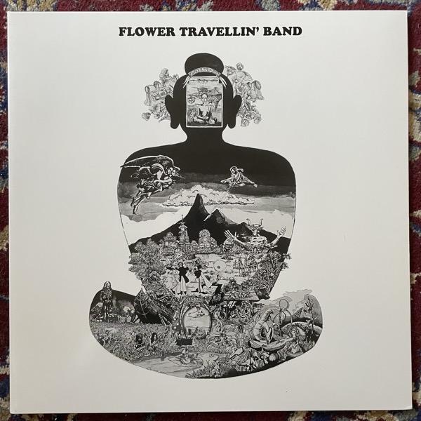FLOWER TRAVELLIN' BAND Satori (Phoenix - UK reissue) (NM/EX) LP
