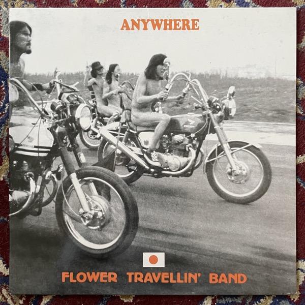 FLOWER TRAVELLIN' BAND Anywhere (Phoenix - UK reissue) (VG+/NM) LP
