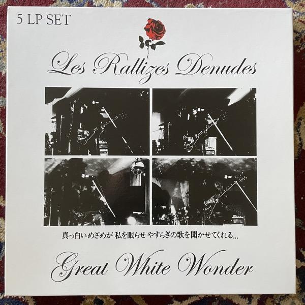 LES RALLIZES DENUDES Great White Wonder (Phoenix - UK reissue) (NM) 5LP BOX