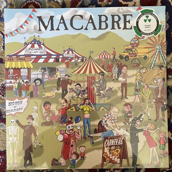MACABRE Carnival Of Killers (Nuclear Blast - Europe original) (SS) LP