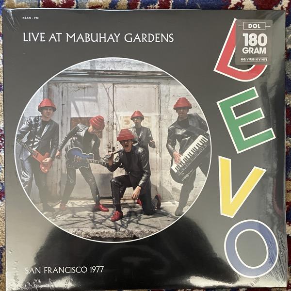 DEVO Live At Mabuhay Gardens - San Francisco 1977 (DOL - Europe original) (SS) LP
