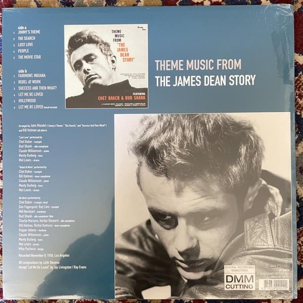 "CHET BAKER & BUD SHANK Theme Music From ""The James Dean Story"" (Vinyl Passion - Europe reissue) (SS) LP"