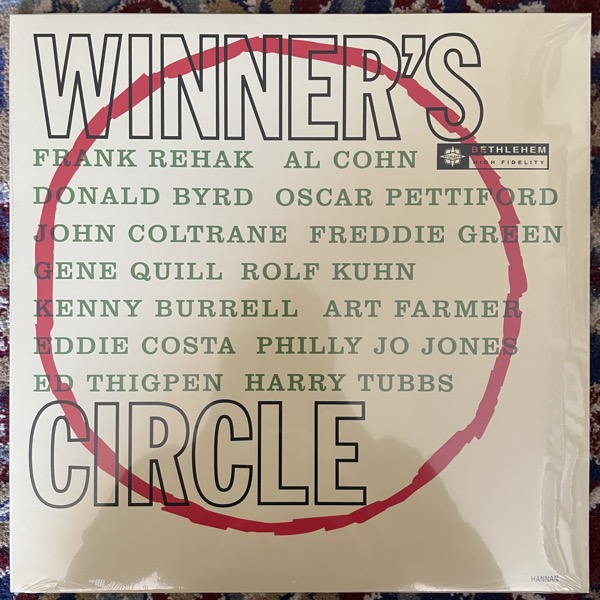 JOHN COLTRANE John Coltrane In The Winners Circle (Vinyl Passion - Europe reissue) LP