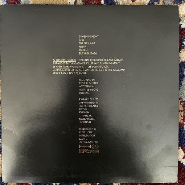 "JUNGLE BY NIGHT AND THE GASLAMP KILLER Brass Sabbath (Kindred Spirits - Holland original) (VG/VG+) 7"""
