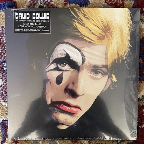 """DAVID BOWIE Silly Boy Blue / Love You Till Tuesday (Yellow vinyl) (Reel-To-Reel Music - Europe original) (SS) 7"""""""