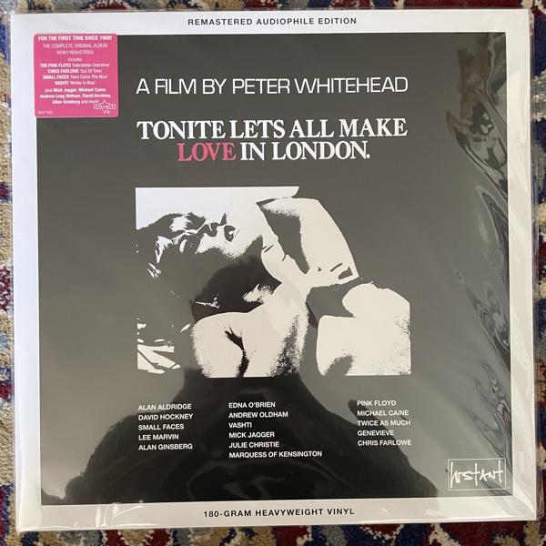 SOUNDTRACK Various – Tonite Let's All Make Love In London (Pink vinyl) (Instant - UK reissue) (NM) LP