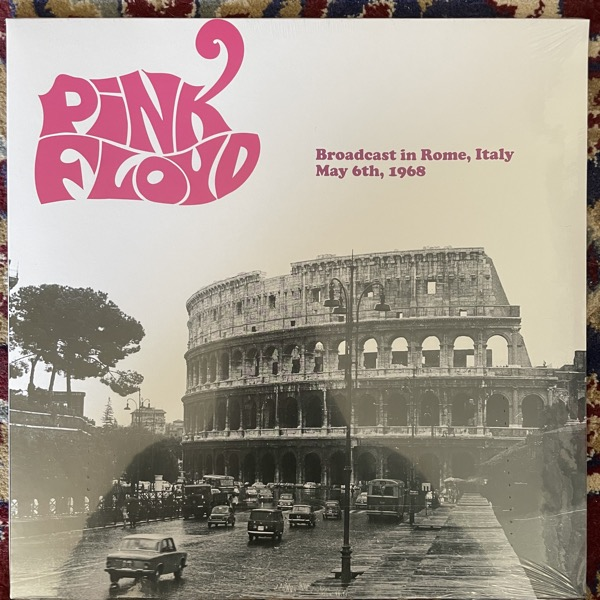 PINK FLOYD Broadcast In Rome, Italy May 6th, 1968 (Supernaut - Europe original) (SS) LP
