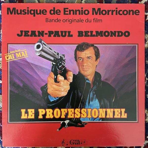 SOUNDTRACK Ennio Morricone – Le Professionnel (Général Music - France early reissue) (VG) LP